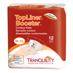 Tranquility 3096 TopLiner Booster Contour Pads 120/Case